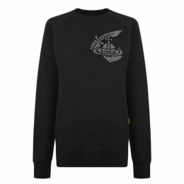 VIVIENNE WESTWOOD ANGLOMANIA Classic Patch Long Sleeved Sweatshirt