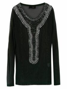 Andrea Bogosian embellished top - Black