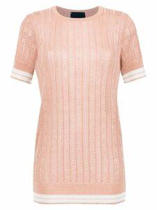 Andrea Bogosian knit blouse - Neutrals