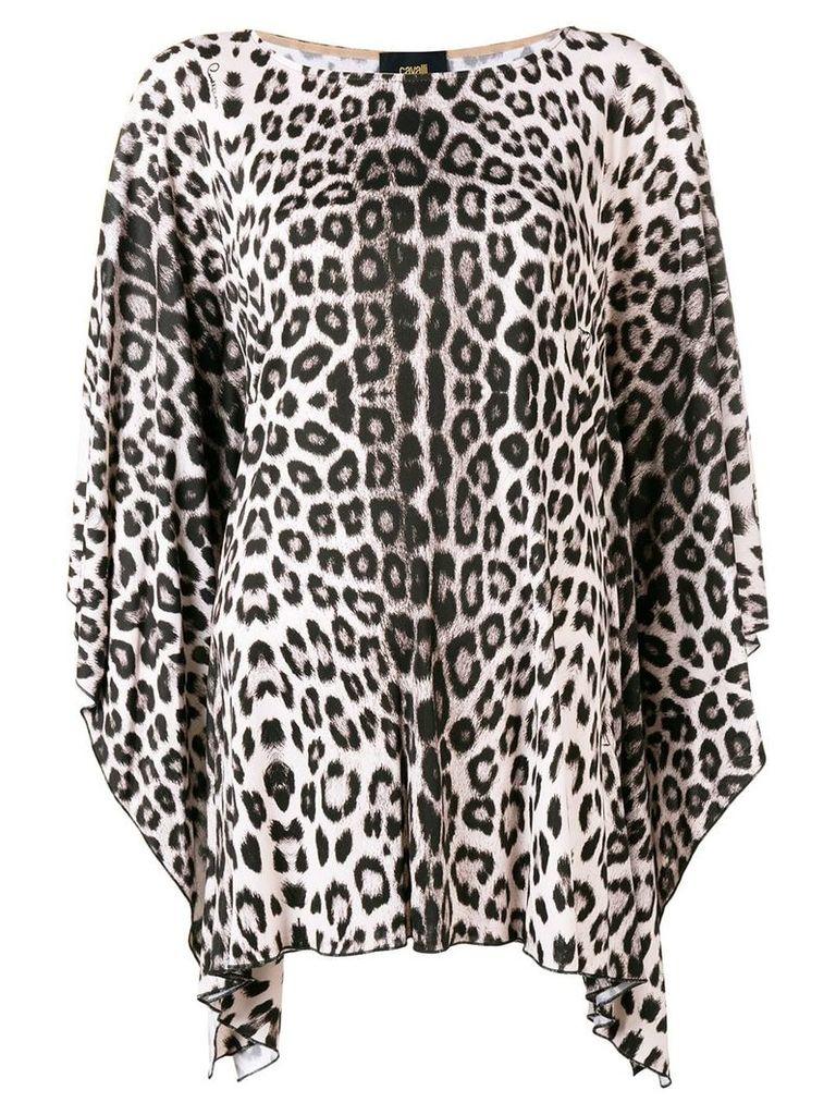 Cavalli Class leopard print blouse - Pink