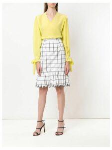 Reinaldo Lourenço silk blouse - Yellow
