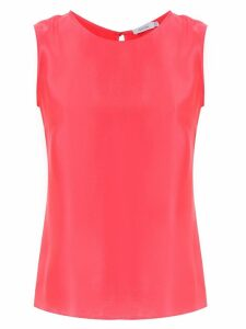 Isolda Shell silk top - Pink