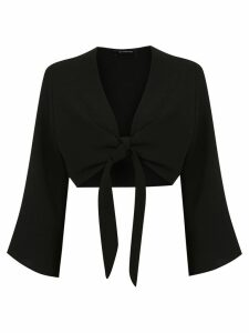 Olympiah Lucca cropped blouse - Black
