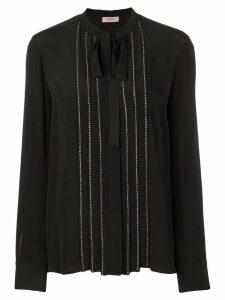 Twin-Set stud detail blouse - Black
