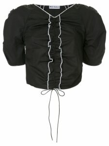 Molly Goddard ruffled blouse - Black