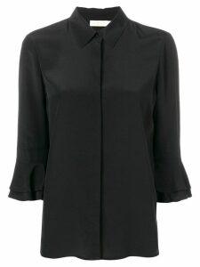 Tory Burch frill sleeve blouse - Black