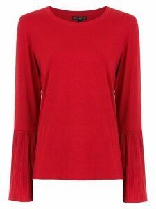 Alcaçuz Guilhermina blouse - Red