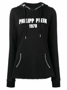 Philipp Plein hooded sweatshirt - Black