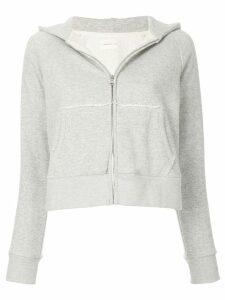 Simon Miller Burke zipped hoodie - Grey