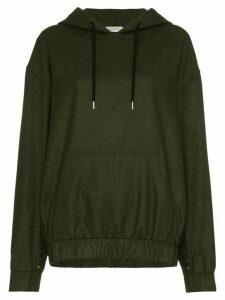 Beau Souci oversized wool hoodie - Green