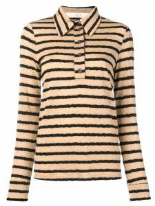 Tela striped polo shirt - Neutrals