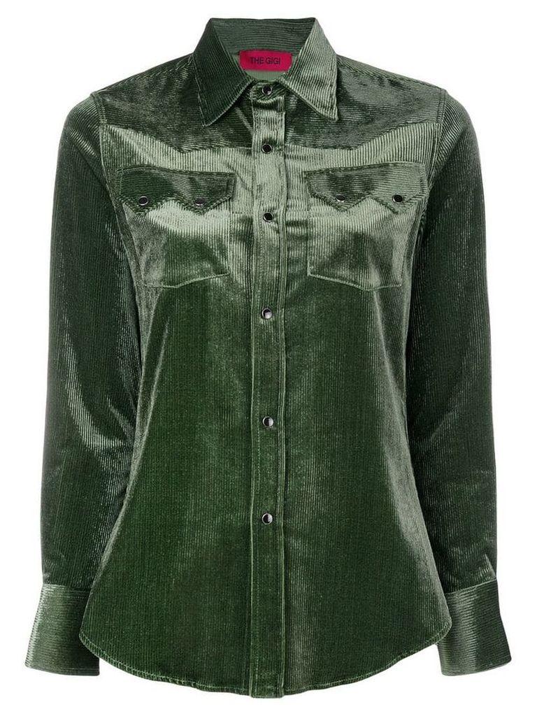 The Gigi corduroy shirt - Green