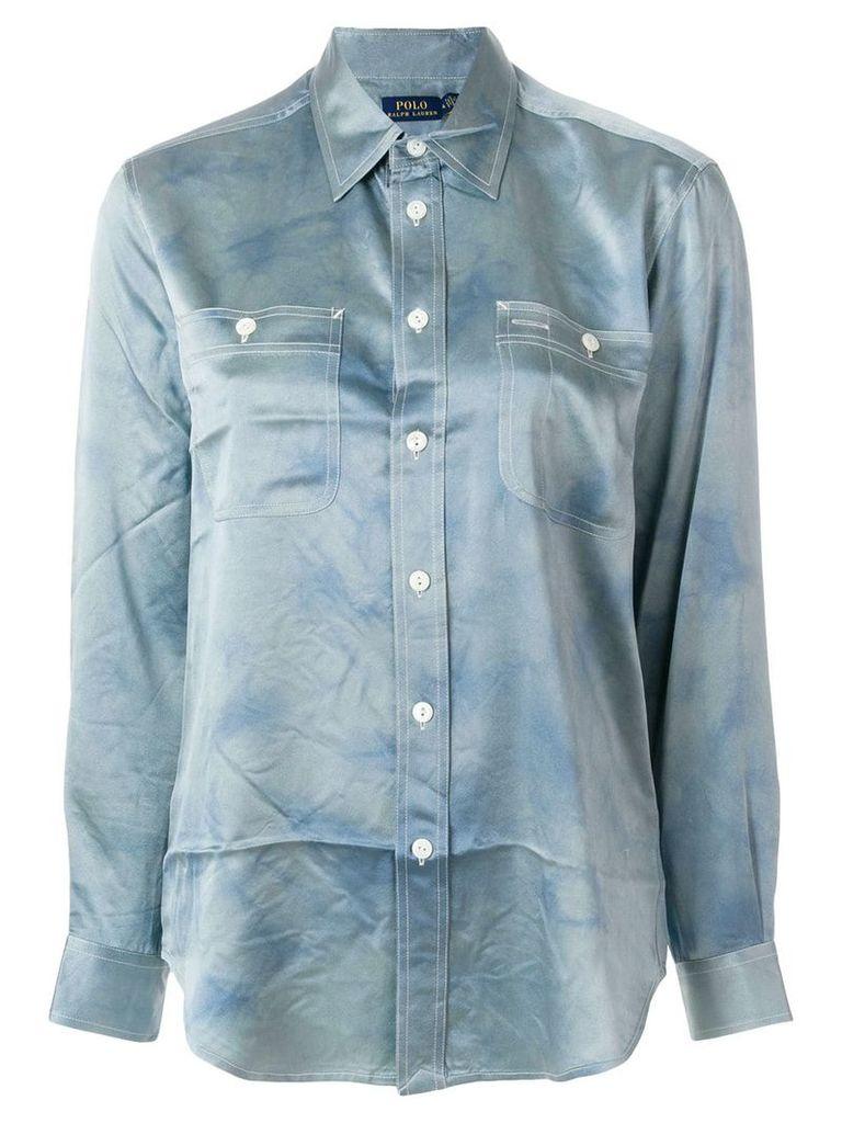 Polo Ralph Lauren curved hem shirt - Blue