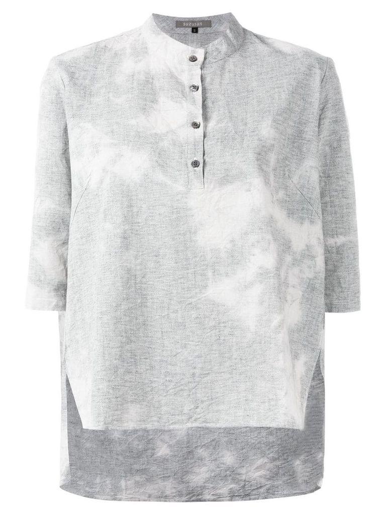 Suzusan printed shirt - Grey