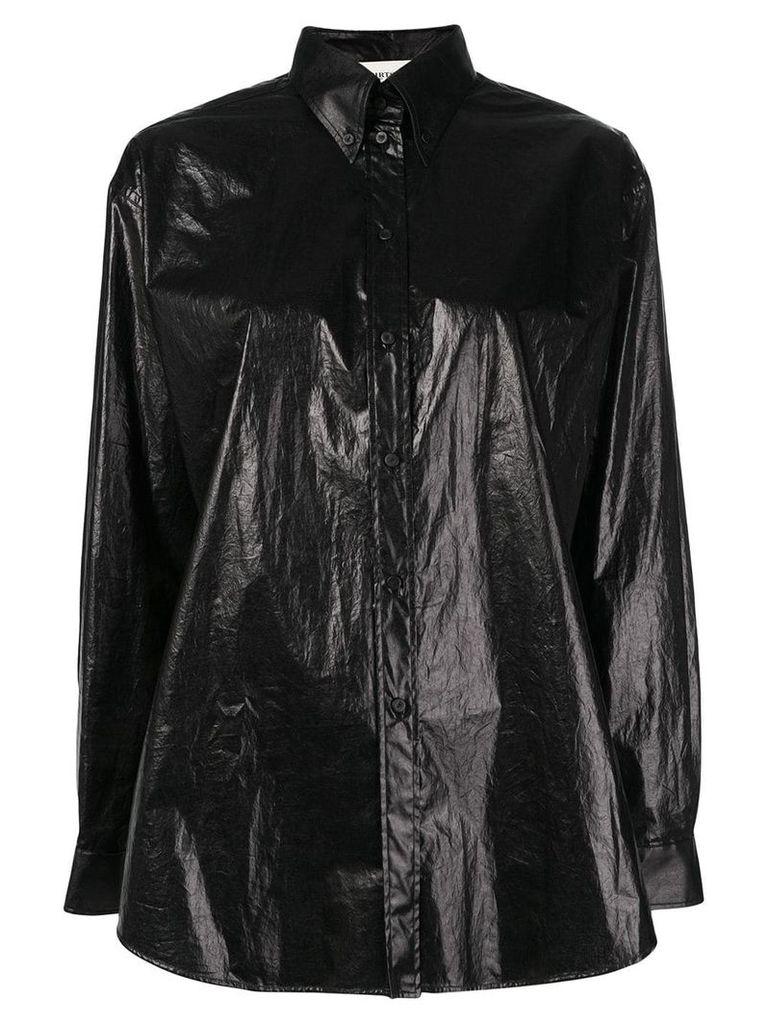 Ports 1961 button-down shirt - Black