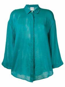 Forte Forte sheen drop shoulder shirt - Green