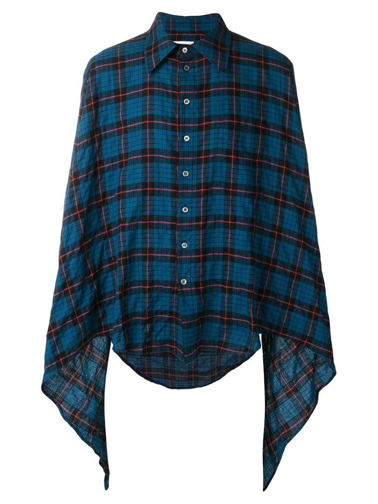Faith Connexion checked shirt - Blue