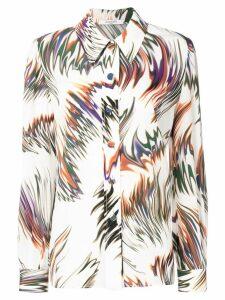 Givenchy swirl print shirt - White