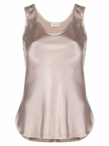 Blanca evening tank top - Neutrals