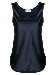 Blanca sheen tank top - Blue