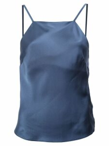 Fleur Du Mal straight neck cami top - Blue