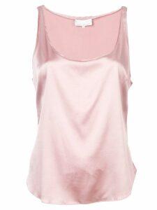 Fleur Du Mal scoop neck cami top - Pink