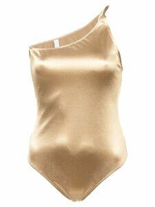 Fantabody Pina metallic bodysuit - Yellow