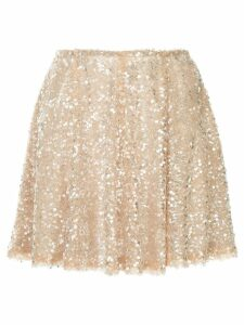 Walk Of Shame sequin embellished skirt - Pink