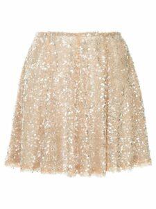Walk Of Shame sequin embellished skirt - Pink