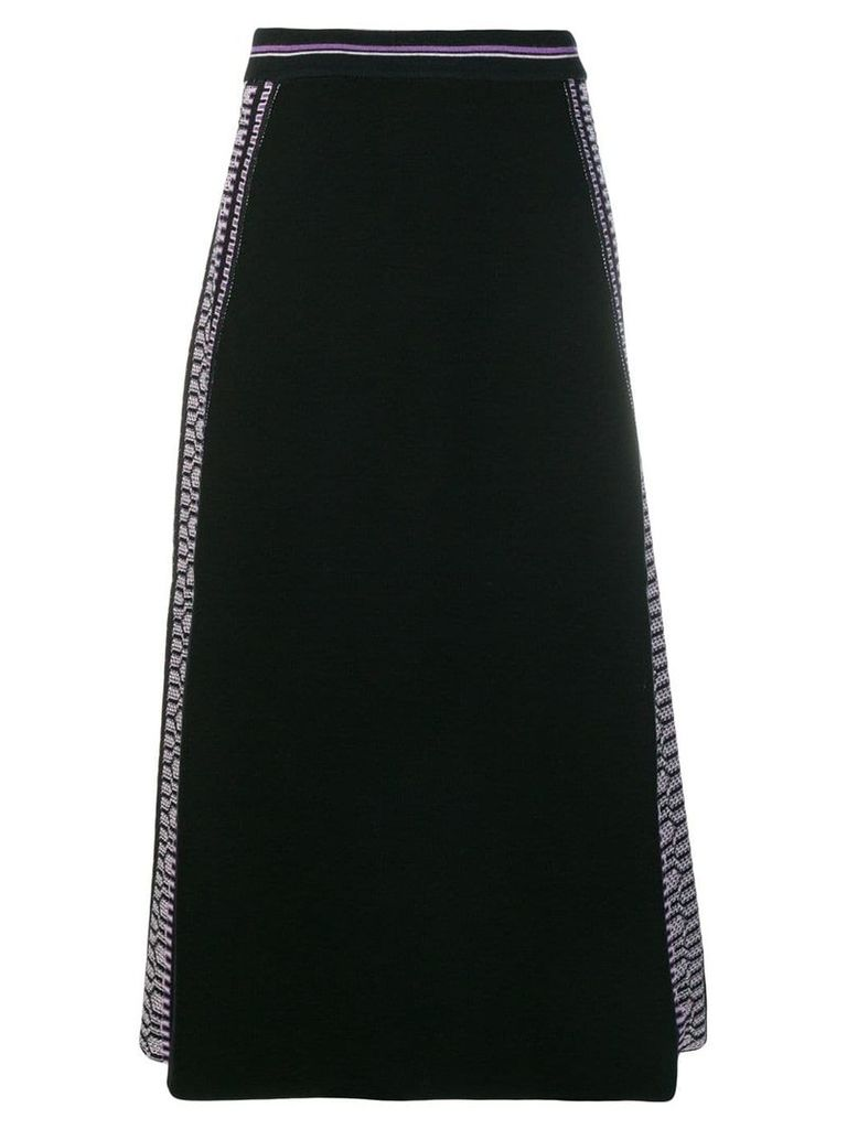 Temperley London Sydney knit skirt - Black