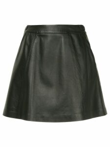 Loveless A-line short skirt - Black