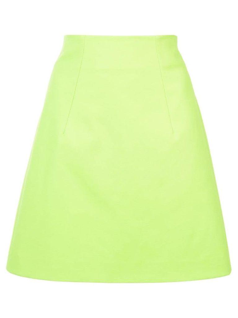 Delpozo A-line skirt - Green