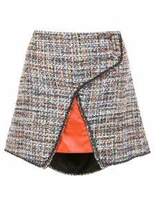 Andrea Bogosian tweed skirt - Red