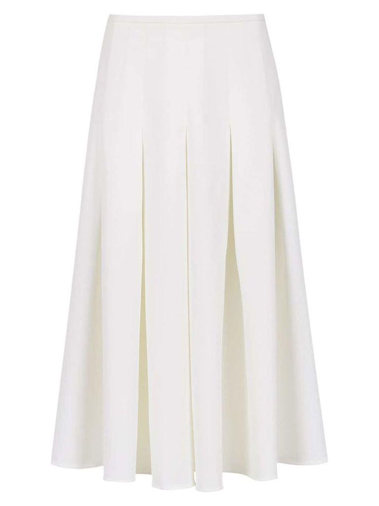 Olympiah Spezzia midi skirt - White