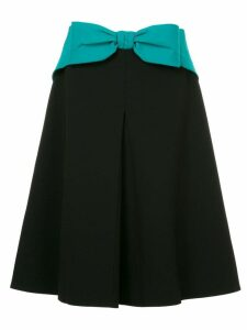 Mary Katrantzou bow front A-line skirt - Black