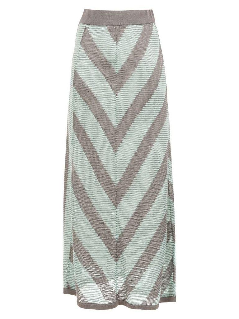 Alcaçuz knit Glaucia skirt - Green