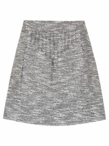 Andrea Bogosian tweed skirt - Grey