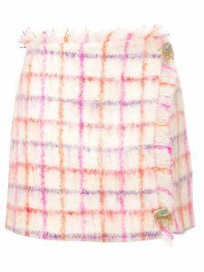Vivetta plaid mini skirt - Pink