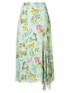 Vilshenko floral print skirt - Green
