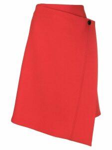 Dorothee Schumacher asymmetric wrap skirt - Yellow