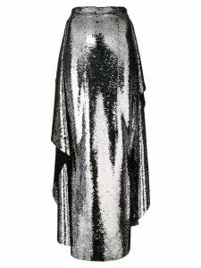 Paula Knorr sequin embellished skirt - Metallic