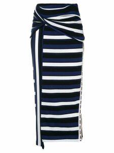 3.1 Phillip Lim Wrapped maxiskirt - Blue