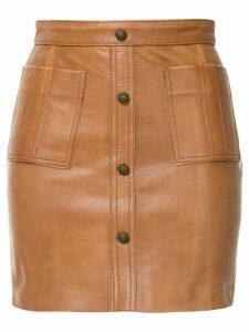 Aje Shrimpton mini skirt - Brown