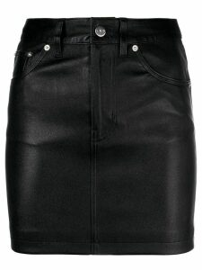 Iro fitted short skirt - Black