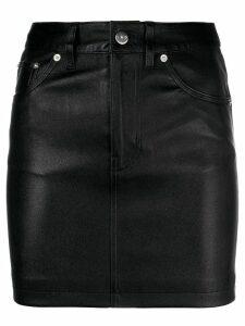Iro fitted short skirt - Black
