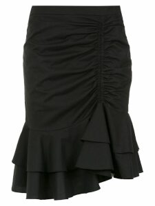 Isolda ruffled skirt - Black