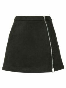 Guild Prime zip front mini skirt - Black