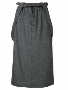 Tibi detachable strap skirt - Grey