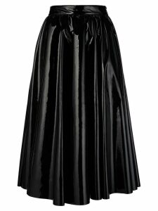 MSGM full flared skirt - Black