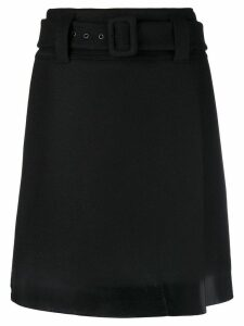 Prada short belted skirt - Black